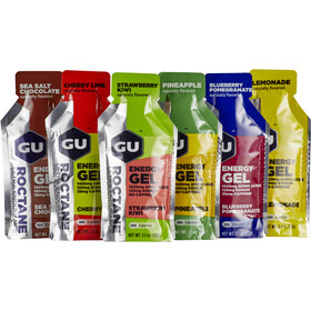 GU Energy Roctane Energy Gel Test Package 6x32g, Mixed